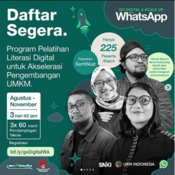 Pelatihan Go Digital & Scale up with WhatsApp